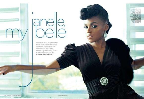 Janelle Monae for Essence November 2011