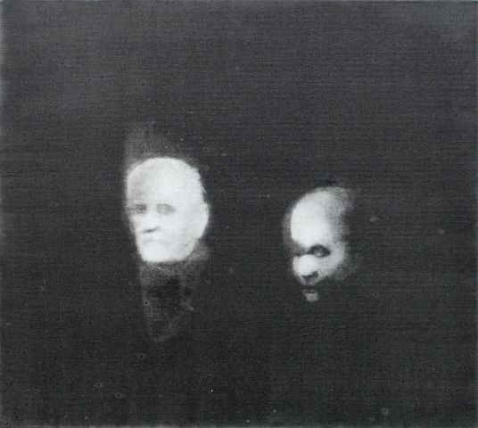 Blurred Projection Portraits