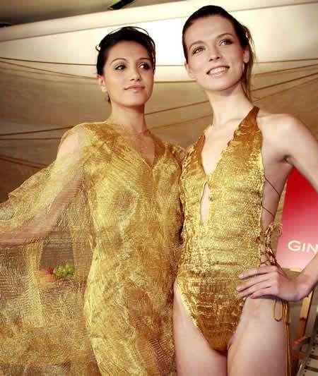 Pure Gold Swim Suit