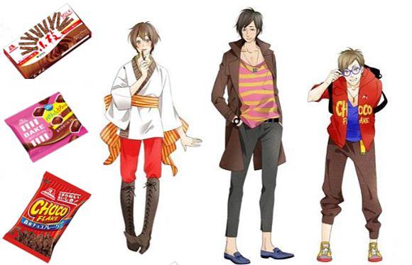 Anime Chocolate Characters