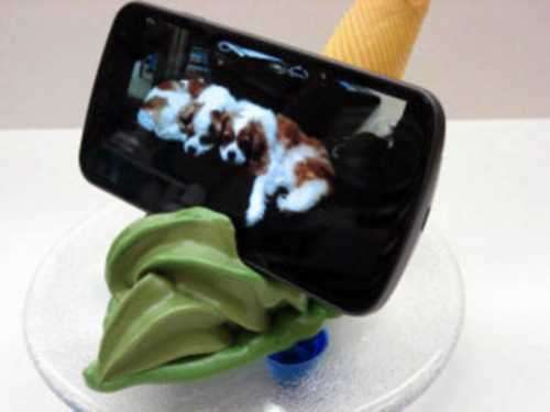 Snacking Smartphone Stands