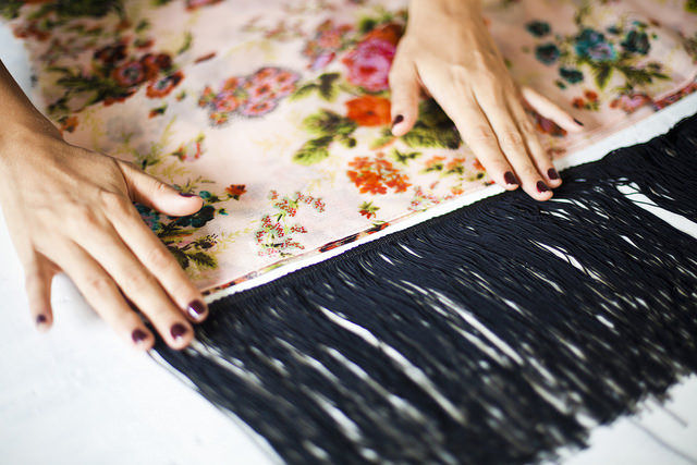 DIY Fringe Kimonos