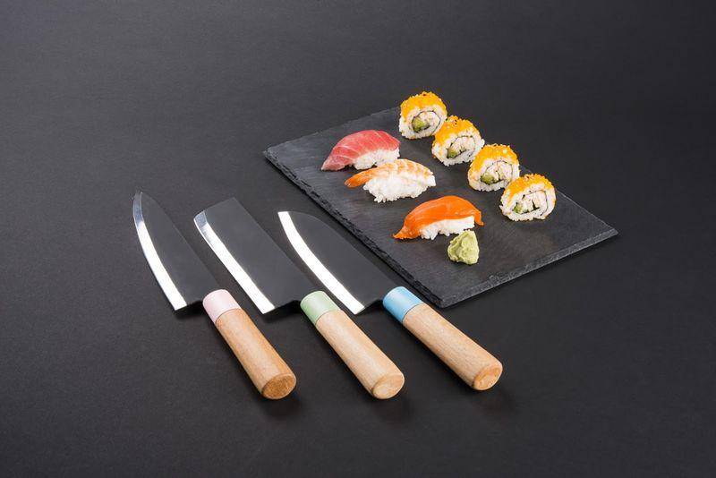 Minimalist Japanese Knife Sets