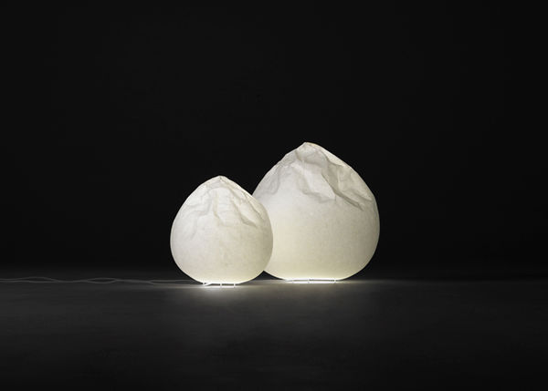 Delicately Crumpled Lamps