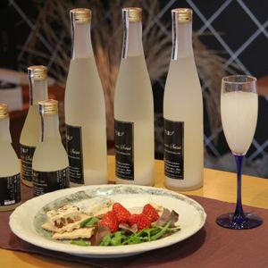 Sparkling Sake Drinks