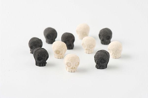 Skull-Shaped Sugar Cubes