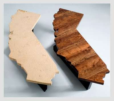 State Shaped Furniture