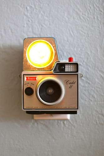 Retro Camera Nightlights