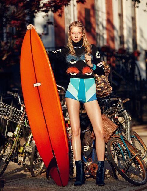 Urban Surfer Photoshoots