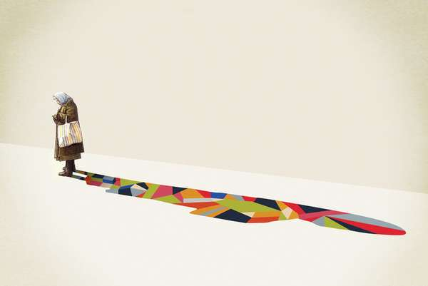 Lively Shadow Illustrations