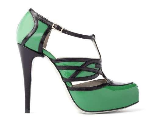 Classic Color-Block Heels