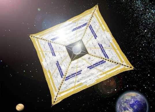 Solar-Powered Spacecrafts