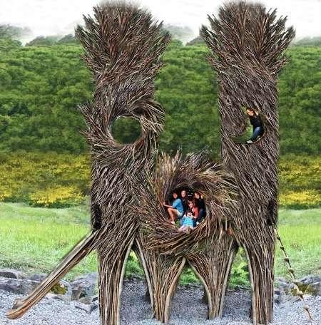 Gigantic Human Nests