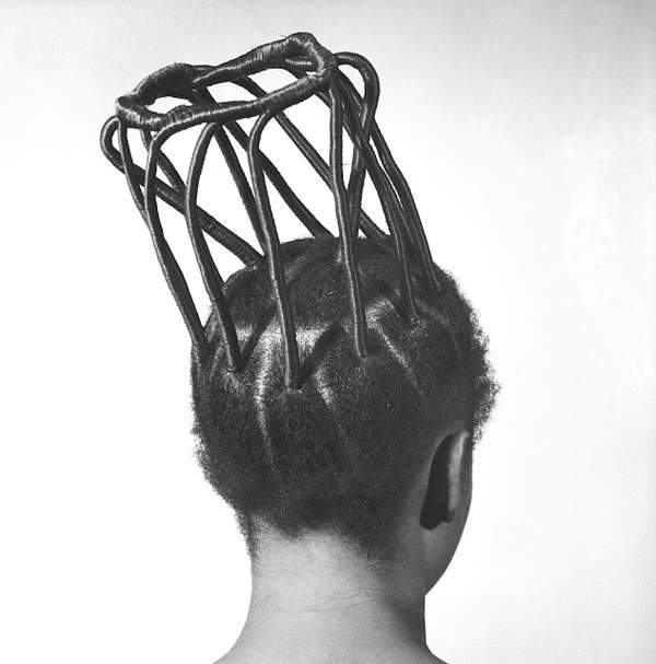 Intricate Hairstyle Photography