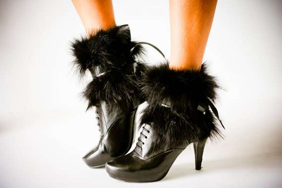 Fluffy Ankle Covers