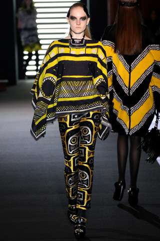 Eccentrically Patterned Runways