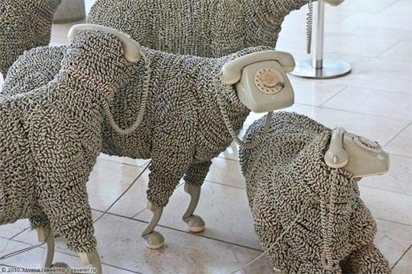 Spellbinding Sheep Sculptures