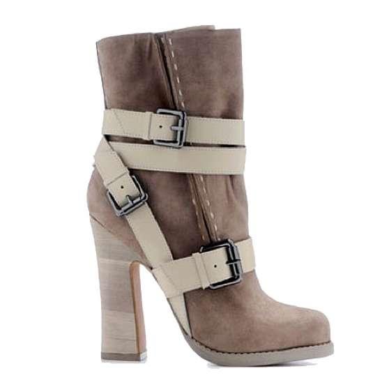 Romantically Rugged Footwear