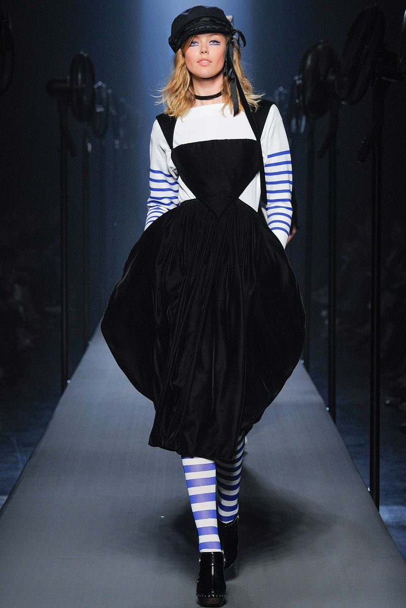 nautical fashion jean paul gaultier fall