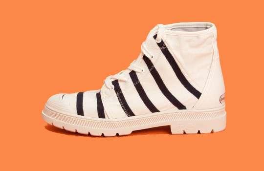 Zebra Mariner Boots