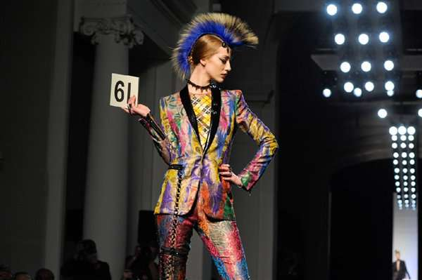 Chic Mohawked Models