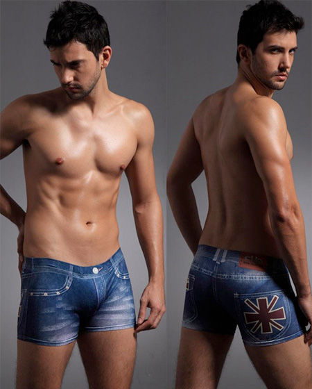 Deceptive Denim Undies