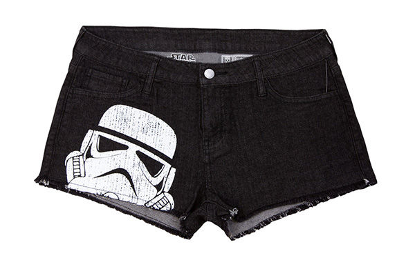 Geeky Denim Shorts