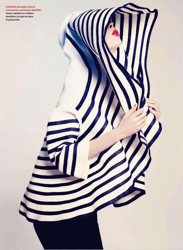 Striped Couture Cocoons