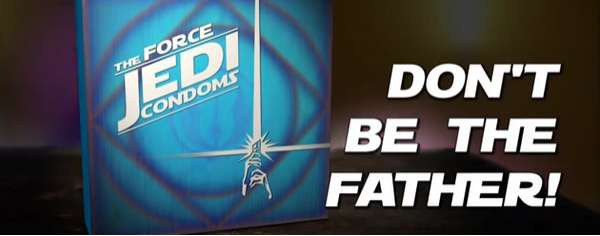 Star Wars Prophylactic Spoofs
