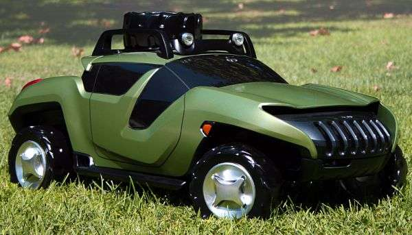 Futuristic Rugged Vehicles