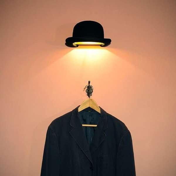 jeeves bowler hat light