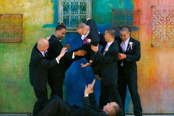 Color Contrast Marriage Shoots