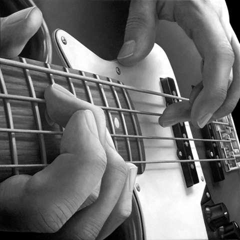 Realistic Musician Hand Renderings