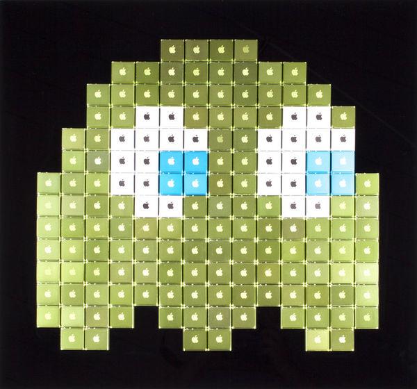 Pixel-Resembling Artwork
