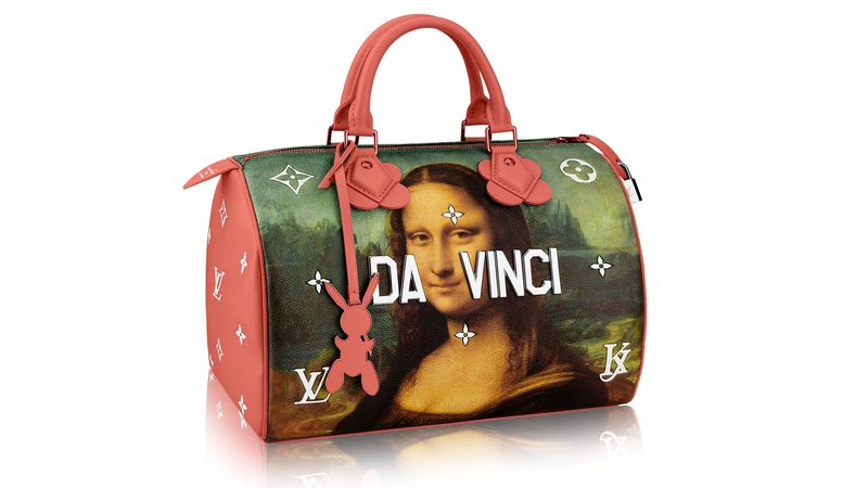 historical art handbags jeff koons louis vuitton