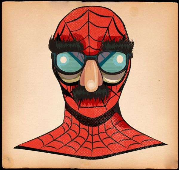 Pop Icon Superhero Fusions