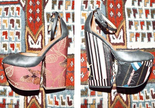 Clashing Print Platforms