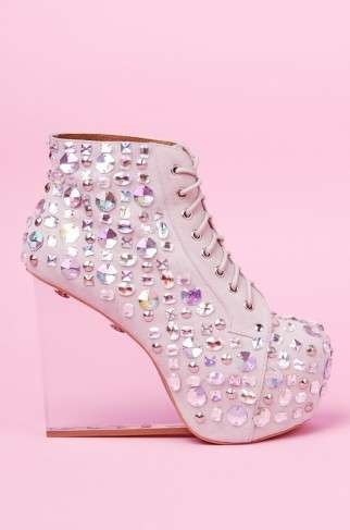 Cinderella Glass Wedges