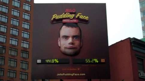 Jell-O Pudding Face Mood Meter