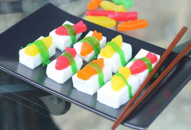 Sushi Jelly Shots