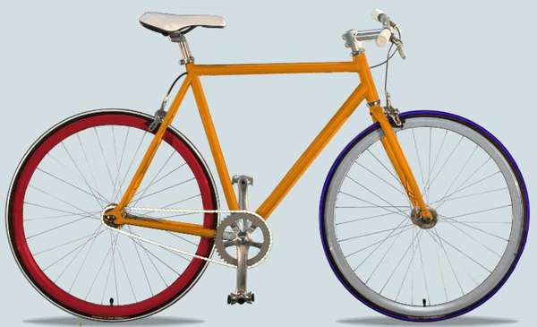 Customized Rainbow Bikes