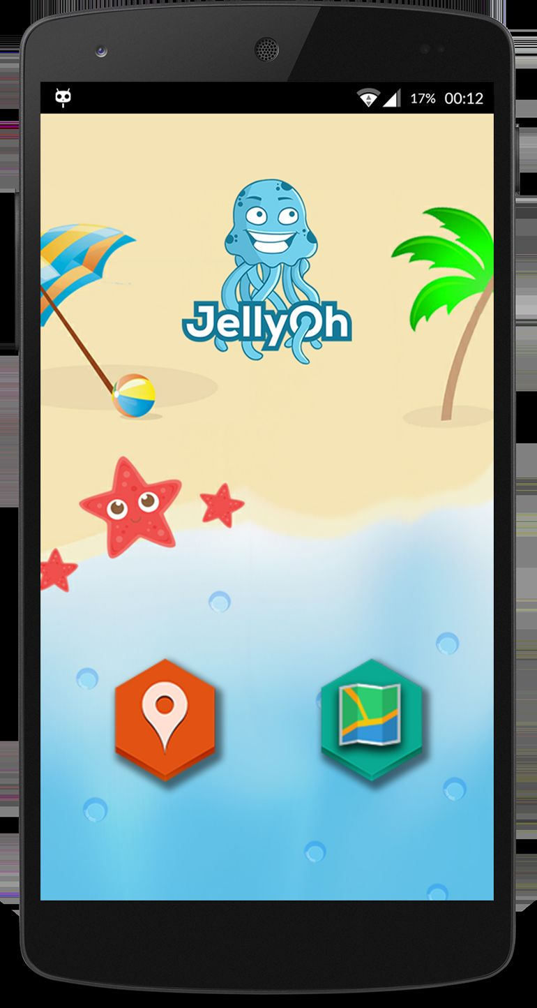 Jellyfish Warning Apps