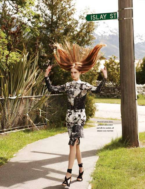 Jemma Baines for L'Officiel Singapore