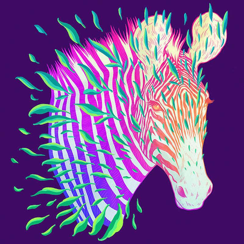 Technicolor Endangered Species Posters
