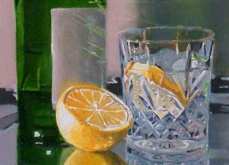 Liquor Cabinet Art