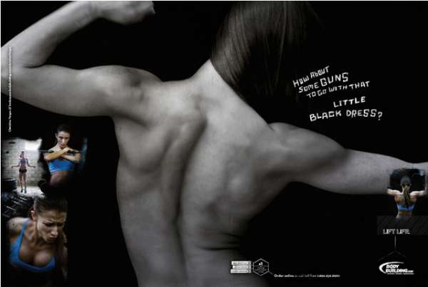 Inspiring Exercise Ads