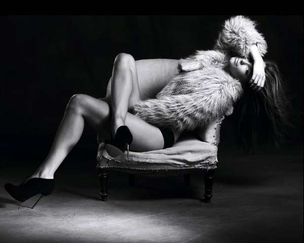 Lusty Lounging Shoe Campaigns