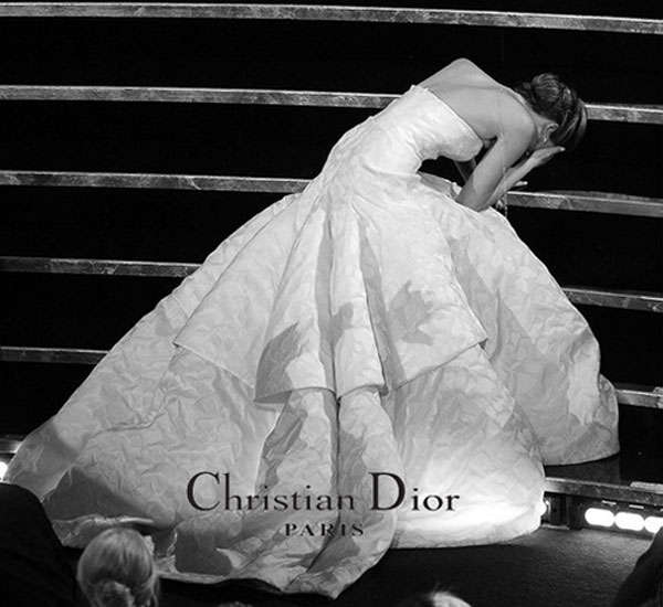Jennifer Lawrence Fake Christian Dior