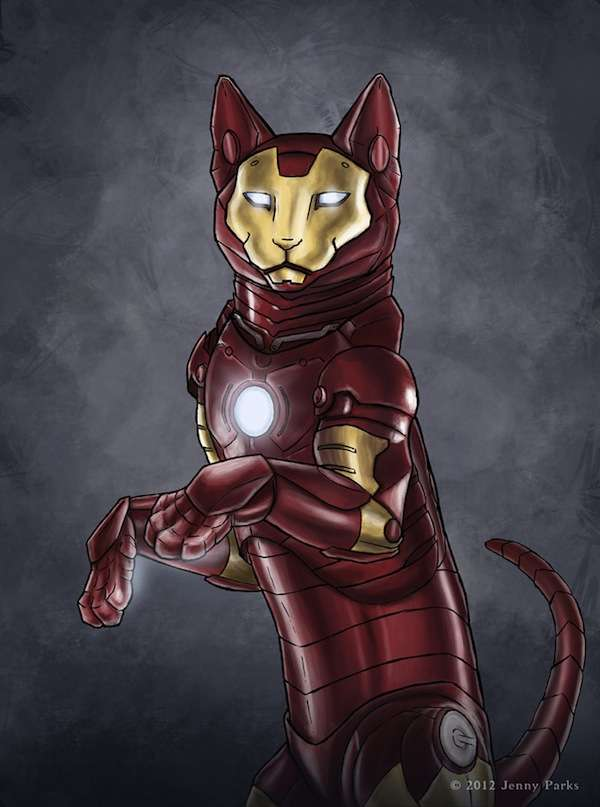 Superhero Feline Makeovers