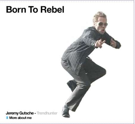Jeremy Gutsche is Born to Rebel for Gap and Maggie Mason of Mighty Girl